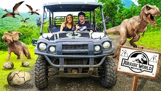 Download EPIC ATV RIDE Through JURASSIC WORLD In HAWAII Video