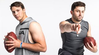 Download Baker Mayfield & Josh Allen Put on a Show for Workouts! | NFL Combine Highlights Video