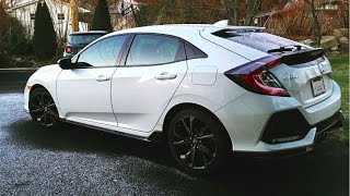 Download 2017 Honda Civic Hatch Sport manual - Owner's Review Video