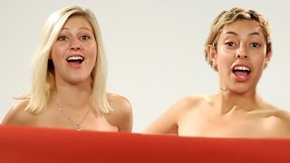 Download Women BFFs See Each Other Naked For The First Time Video