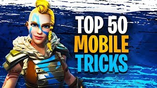 Download 50 Fortnite Mobile Tips And Tricks | EVERYTHING YOU NEED TO KNOW Video