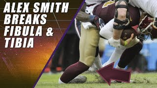 Download Alex Smith Gruesome Leg Injury: Same Day as Joe Theismann Video