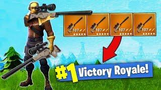 Download The SNIPER ONLY Challenge! [Fortnite - Battle Royale] Video