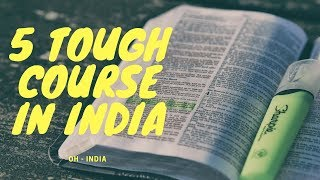 Download TOP 5 TOUGHEST COURSE IN INDIA Video