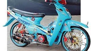 Download Motor Trend Modifikasi | Video Modifikasi Motor Honda Supra 100 cc Velg Racing Terbaru Video