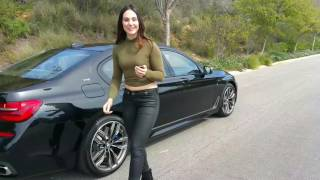 Download 2017 BMW M760i Exhaust Sound / Remote Parking / 20″ M Wheels / BMW Review Video