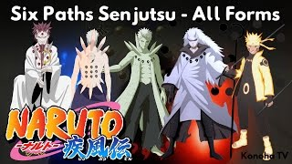 Download Six Paths Senjutsu - All Forms and Derived Jutsu Video