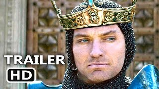 Download KING ARTHUR Official Trailer # 2 (2017) Guy Ritchie Action Movie HD Video