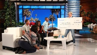 Download Ellen Surprises an Amazing Family from Philadelphia Video