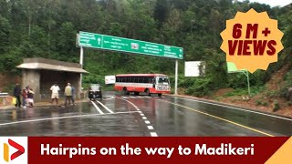 Download Hairpins on the way to Madikeri, Karnataka Video