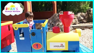 Download Legoland Amusement Park for Kids Car and train rides! Family fun children play area Video