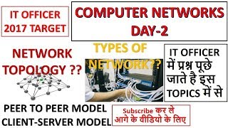 Download Computer Networks Day-2 Preparation For IT Officer|NIELIT|Scientific Assistant Exam 2017 Video