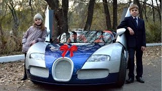 Download my dad bought us a bugatti.. Video