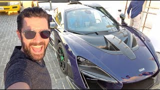 Download Collecting A New McLaren In Time For A Special Drive! Video