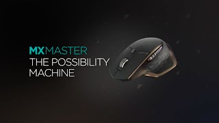 Download A behind the scenes look at the Logitech MX Master wireless mouse Video