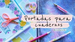 Download PORTADAS BONITAS PARA CUADERNOS de rayas y cuadriculados ❤ PORTADAS para CUADERNOS TUMBLR Video