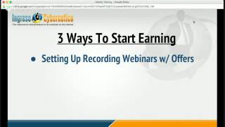 Download 3 Ways To Start Earning With Cybernetico Live Today Video