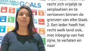 Download Jemire Lacle, Netherlands, reading article 13 of the Universal Declaration of Human Rights Video