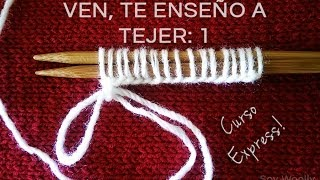 Download Curso Express para aprender a tejer. Episodio 1: Montar los puntos Video