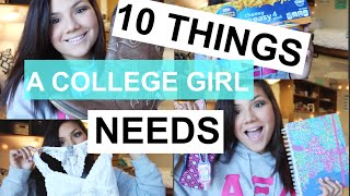 Download 10 Things Every College Girl Needs | BiancaCelinexo♡ Video