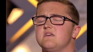 Download Big Voice Daniel Blows Judges Away With Elton John's Your Sing | Audition 2 | The X Factor UK 2017 Video