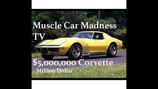Download Rarest Corvette EVER Built - $5 Million Dollars 1969 ZL1 (1 of 2) Video