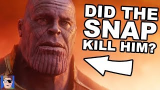 Download Did The Snap Kill Thanos? | Infinity War Theory Video