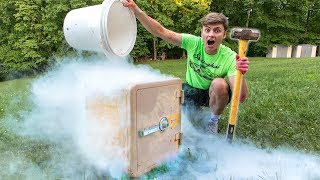 Download FREEZING ABANDONED SAFE!! (LIQUID NITROGEN) Video