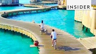 Download Maldives Overwater Resort Video