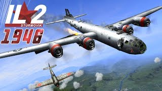 Download IL-2 1946: B-29 Superfortresses attacked by Japanese Fighters Video