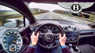 Download Bentley Bentayga Acceleration POV Autobahn 290 km/h Drive by AutoTopNL Video