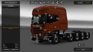 Download Scania R & Streamline Modifications Tandem 🌟 ETS2 1.24 Video