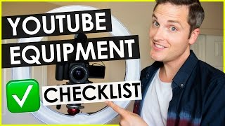 Download YouTube Equipment List for Making Videos Video