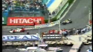 Download Mansell Vs Senna Monaco Grand Prix 1992 Final 5 Laps Murray Walker & James Hunt Commentary Video