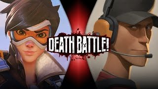 Download Tracer VS Scout (Overwatch VS Team Fortress 2) | DEATH BATTLE! Video