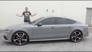 Download A Used Audi RS7 Is a Half-Price Used Car Bargain Video