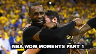 Download NBA WOW MOMENTS PART 1 Video