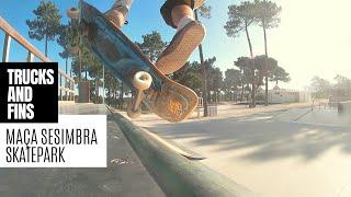 Download Skate Park Maçã Sesimbra - Skate Portugal - Parque Augusto Pólvora - skateparks in Portugal Video