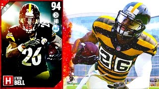 Download MOTM LEVEON BELL IS A MONSTER... OR A B!TCH? - Madden 17 Ultimate Team Video