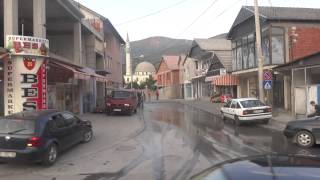 Download Bus ride to Hani i Elezit, Kosovo/Macedonia border Video