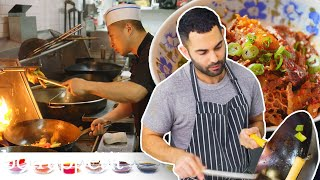 Download Andy Learns How to Cook Sichuan Food | Bon Appétit Video