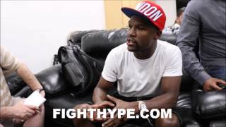 Download FLOYD MAYWEATHER RECALLS SPARRING ERROL SPENCE; SAYS HE'S READY TO FACE KEITH THURMAN Video