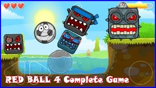 Download Complete Red Ball 4 game walkthrough with Soccer Ball. Killed all bosses Video