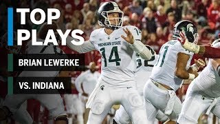 Download Top Plays: Brian Lewerke vs. Indiana | Michigan State | Big Ten Football Video