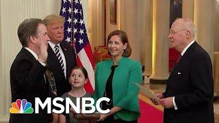 Download President Donald Trump Swears In Brett Kavanaugh At White House Ceremony | Hardball | MSNBC Video