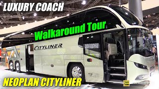 Download 2019 Neoplan Cityliner L Luxury Coach - Exterior and Interior Walkaround - 2018 IAA Hannover Video