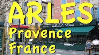 Download Arles, Provence in the south of France Video