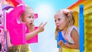 Download Настя и папа - весёлая история для детей про двойняшек Video