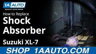 Download How To Install Replace Front Shock Strut 2001-06 Suzuki XL-7 Video