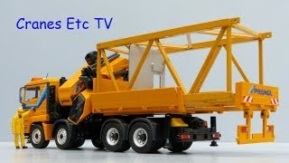 Download Conrad MAN TGS Extendible Box + Palfinger PK10002 'Prangl' by Cranes Etc TV Video